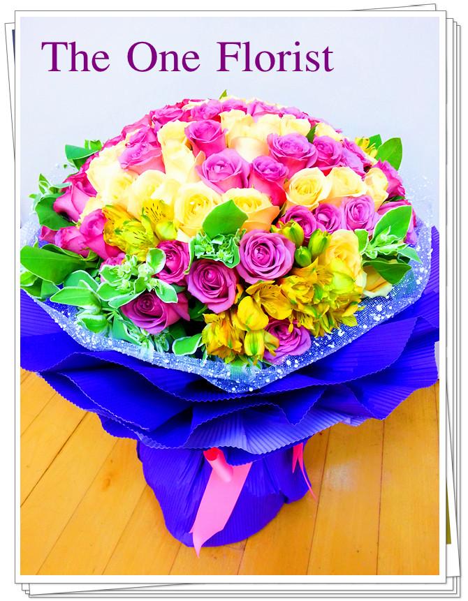 99枝玫瑰花束 網上花店 (BQ-29)